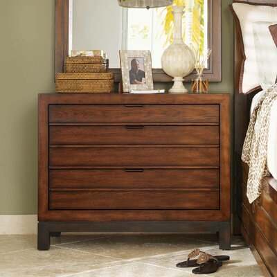 Tommy Bahama Home Ocean Club 3 Drawer Bachelor's Chest