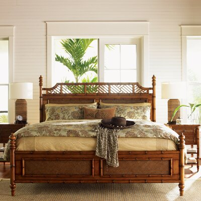 Tommy Bahama Home Island Estate Panel Customizable Bedroom Set
