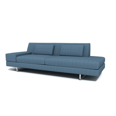 TrueModern Hamiln One Arm Sofa with Chaise
