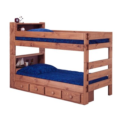 Chelsea Home Twin Bunk Bed and Storage
