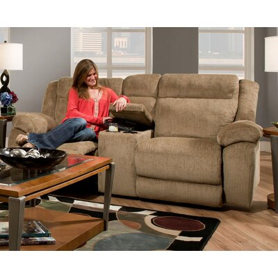 Chelsea Home Howard Reclining Loveseat