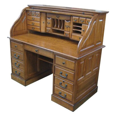 Chelsea Home Marlin Deluxe Roll Top Desk Top