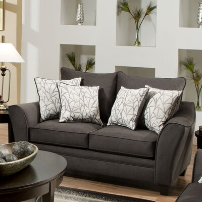 Chelsea Home Flannel Loveseat