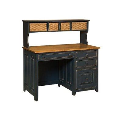 Chelsea Home Gorgies Credenza Desk with Hutch