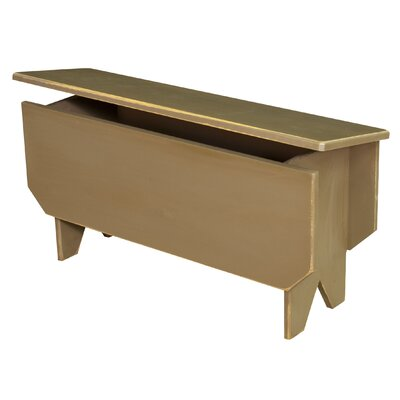 Chelsea Home Ellie Wood Storage Bench