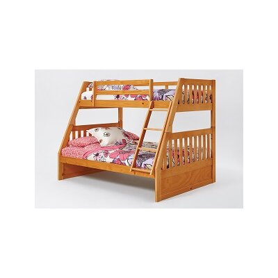 Chelsea Home Mission Twin Over Full Bunk Bed