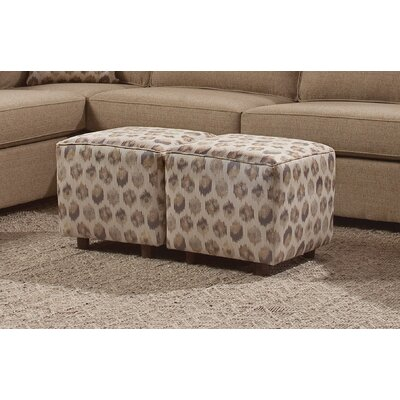 Chelsea Home Maple Cube Ottoman Image