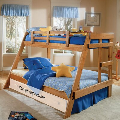 Chelsea Home Twin Over Full Bunk Bed