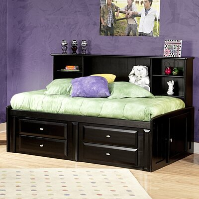 Chelsea Home Twin Mate's Bed with Storage