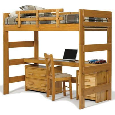 Chelsea Home Twin Loft Bed Customizable B..