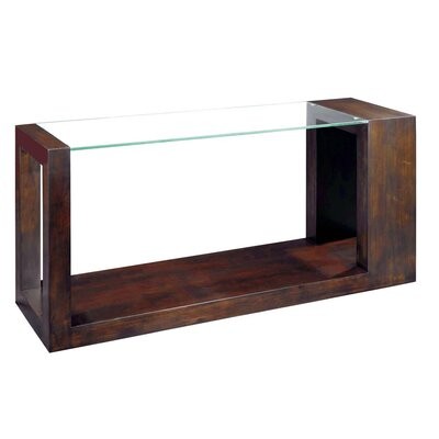 Allan Copley Designs Dado Rectangular Glass Top ..