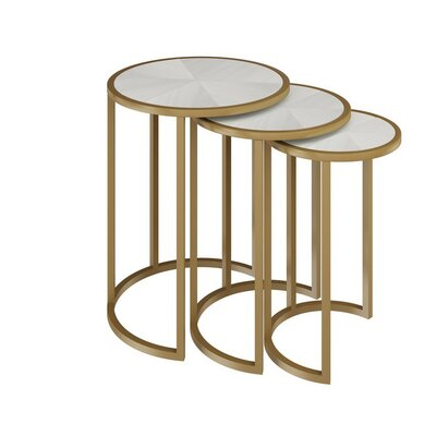 Allan Copley Designs Greta 3 Piece Nesting Tables