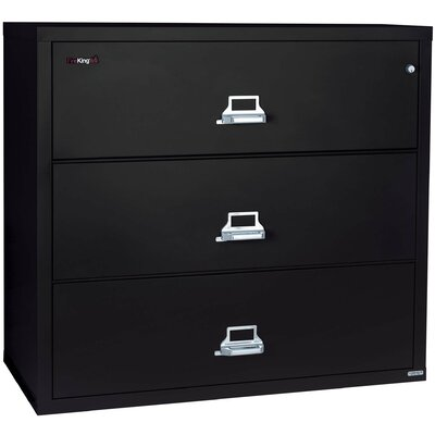FireKing Fireproof 3-Drawer Lateral File