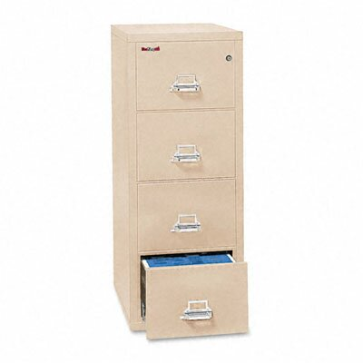 FireKing Fireproof 4-Drawer Patriot Insulated Fire File