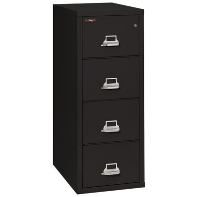 FireKing Fireproof 4-Drawer Vertical Lett..