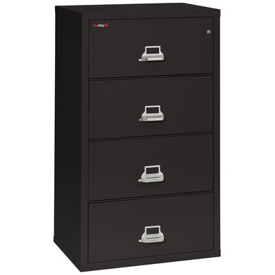 FireKing Fireproof 4-Drawer Vertical F..