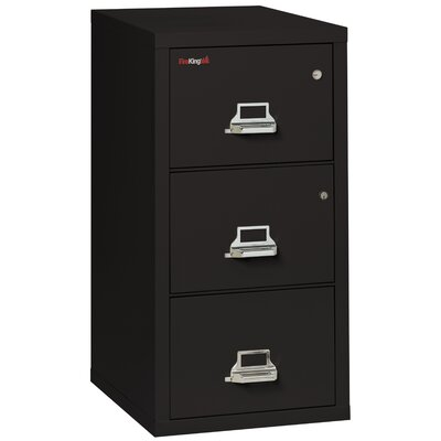 FireKing Fireproof 3-Drawer Vertical Lega..
