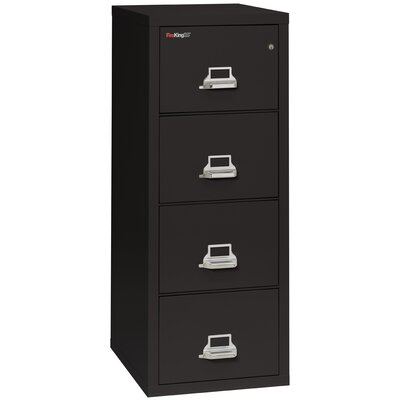 FireKing Fireproof 4-Drawer Vertical Lega..