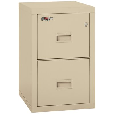 FireKing Fireproof 2-Drawer Vertical File
