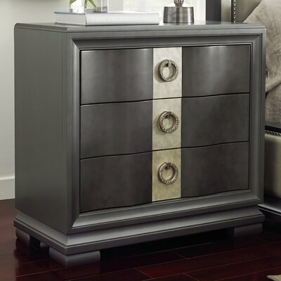 Legacy Classic Furniture Tower Suite 3 Drawer Nightstand