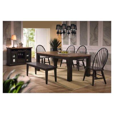 ECI Furniture Acacia 6 Piece Dining Set