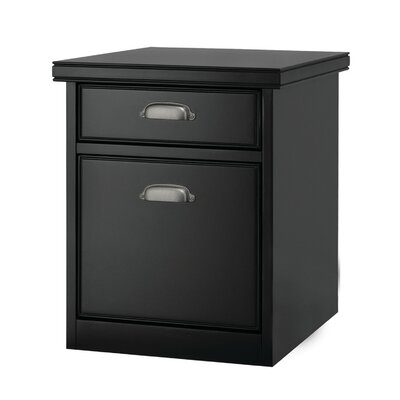 kathy ireland Home by Martin Furniture Tribeca Loft 2-Drawer Mobile Vertical File Cabinet