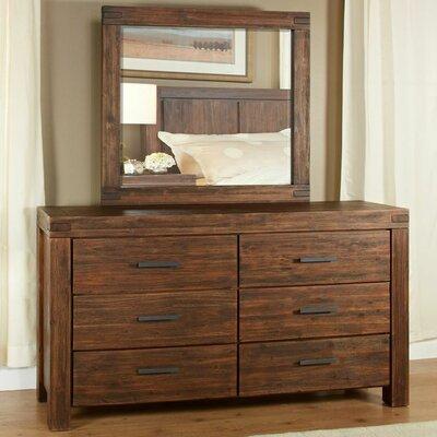 Loon Peak Snowmass 6 Drawer Dresser with Mirror