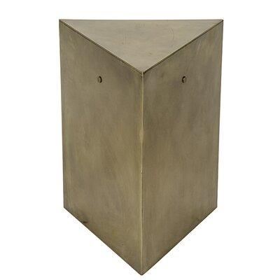 Noir Triangle End Table