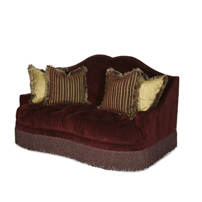 Michael Amini Imperial Court Tufted Loveseat