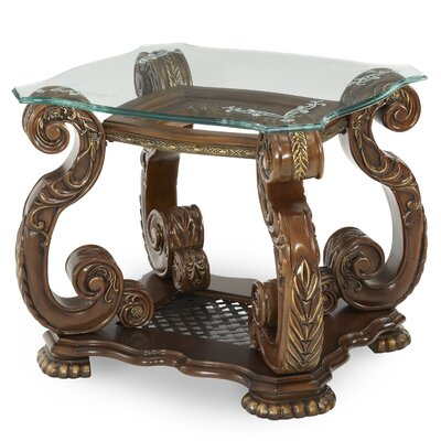 Michael Amini Oppulente End Table