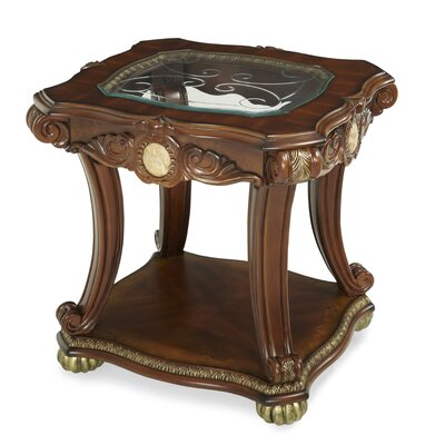 Michael Amini Cortina End Table