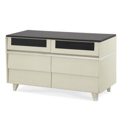 Michael Amini Beverly Boulevard 6 Drawer Media Chest