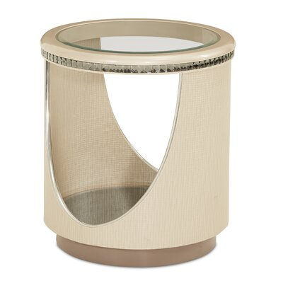 Michael Amini Overture End Table