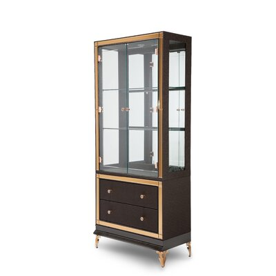 Michael Amini Hollywood Loft China Cabinet