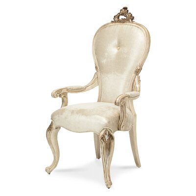 Michael Amini Platine De Royale Arm Chair