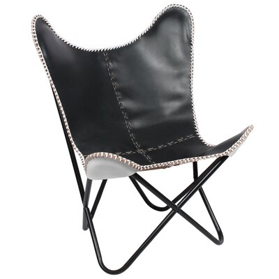 Fashion N You by Horizon Interseas Leather Chair