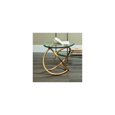 Fashion N You by Horizon Interseas Metal Hoops End Table