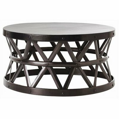 Fashion N You by Horizon Interseas Hammered Coffee Table