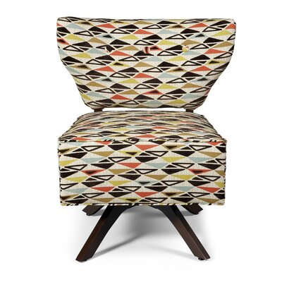 BKind3 by Lazar Sass Triad Fabric Slipper Chair