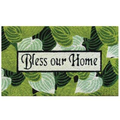 Robert Allen Home And Garden Bless Our Home Doormat Wayfair
