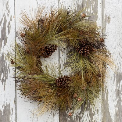 ragon house collection 22 quot pine wreath you ll love wayfair 21186 |