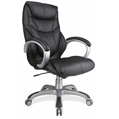 OfficeSource High-Back Executive Chair wi..