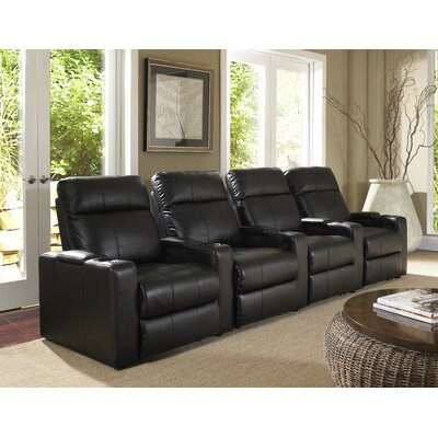 RowOne Plaza Home Theater Recliner Row of 4