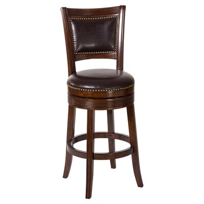 Hillsdale lockefield 26 swivel bar stool reviews wayfair for Furniture 2 day shipping