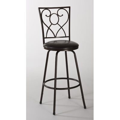 Hillsdale Furniture Bellesol Adjustable Height Swivel Bar Stool