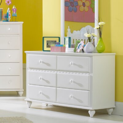 Hillsdale Furniture Lauren 6-Drawer Doubl..