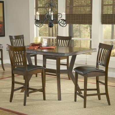 Hillsdale Furniture Arbor Hill 5 Piece Counter Height Dining Set