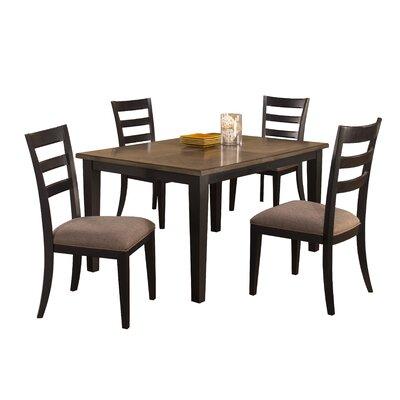 Loon Peak Bow Mar 5 Piece Dining Set