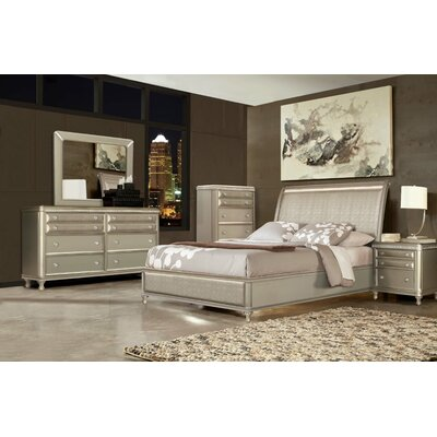 Ultimate Accents Uptown Platform 5 Piece Bedroom Set