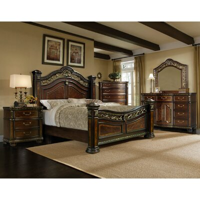 Ultimate Accents Old World 5 Pc Bedroom Set